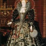 'Ditchley Portrait', c. 1592. Junior Marcus Giraert. The National Portrait Gallery, London