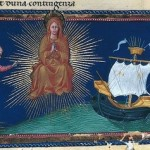 15th century illustration to Divina Commedia – Paradiso – illuminated by Giovanni di Paolo c. 1450