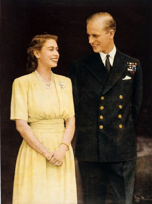 Queen Elizabeth II had first met Prince Philip of Greece and Denmark when she was eight years old