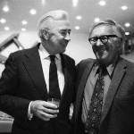 Eugene McCarthy and Ray Bradbury