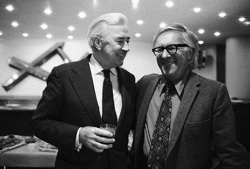 Eugene McCarthy and Ray Bradbury