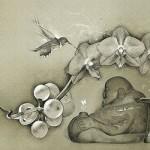 Japanese Netsuke. Digital Illustrations by Ukrainian artist Yuriy Ratush