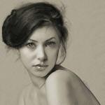 Glance. Digital Illustrations by Ukrainian artist Yuriy Ratush