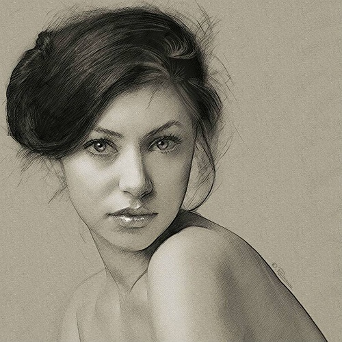 Glance. Digital Illustrations by Ukrainian artist Yuriy Ratush