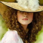 Kate Winslet Portrait. Digital Illustrations by Ukrainian artist Yuriy Ratush