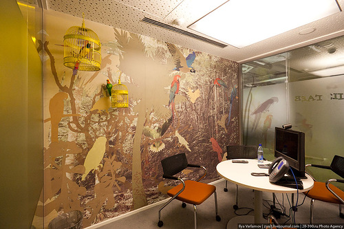 The Google office, Moscow