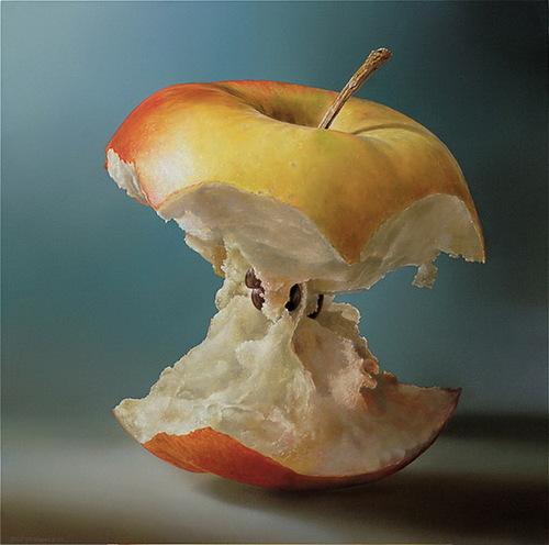 Hyperrealistic painting by Dutch artist Tjalf Sparnaay