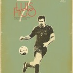 Football legends by Bosnian illustrator Zoran Lucic