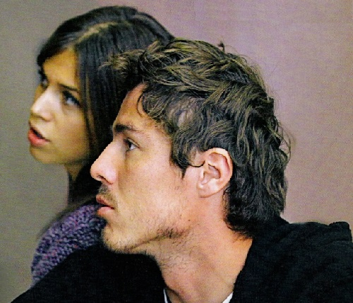 Marat Safin and Dasha Zhukova