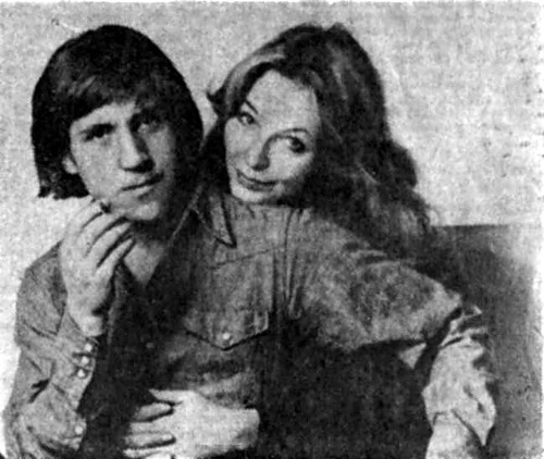 Marina Vladi and Vladimir Vysotsky