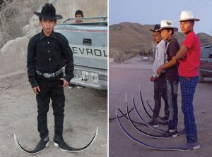 Mexican Pointy Boots Crews