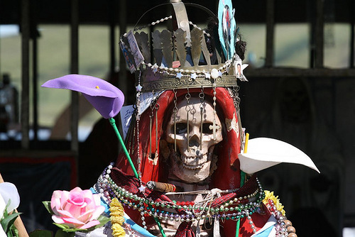 Statue of Santa Muerte