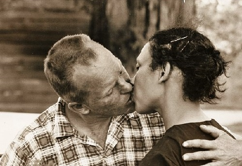 Crime being married to each other. Mildred and Richard Loving