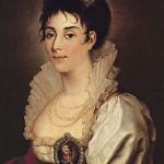 Russian artist Nikolai Argunov (1771-1829). Portrait of P.I. Kovaleva-Zhemchugova. About 1803. The State Historical Museum
