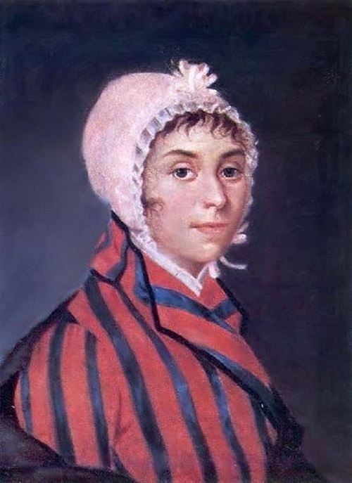 Artist Nikolai Argunov. Portrait of actress P.I. Kovaleva-Zhemchugova (Sheremetyeva) (1768-1803)