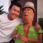 Sand sculptor JOOHeng Tan