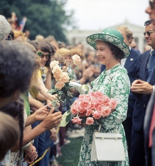 Loved by people, Queen Elizabeth
