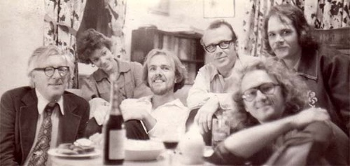 Left – Ray Bradbury