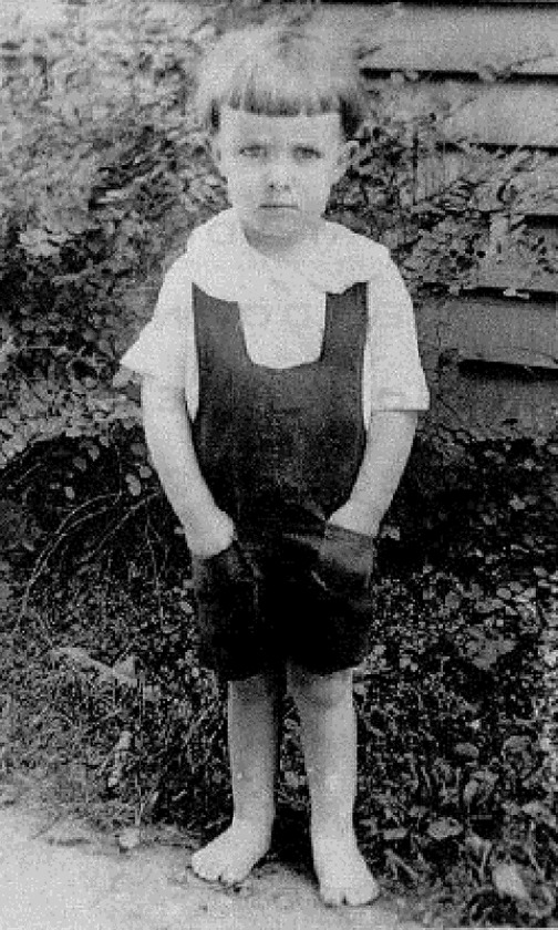 Little boy Ray Bradbury