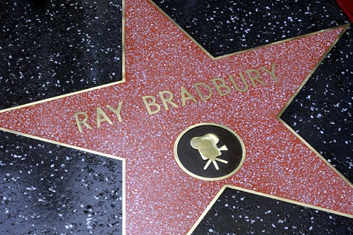 Walk of fame Ray Bradbury's star
