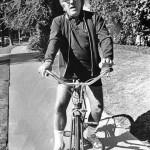 Riding a bike, Ray Bradbury