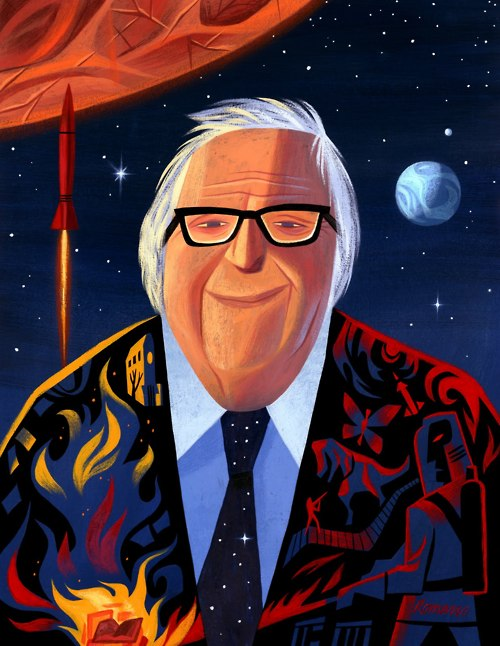 Illustration, Ray Bradbury