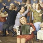 Russian life in Vladimir Lyubarov's paintings
