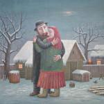 Russian life in paintings by Vladimir Lyubarov
