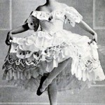 "Tamara Karsavina in the ballet ""Butterfly"" 1914"