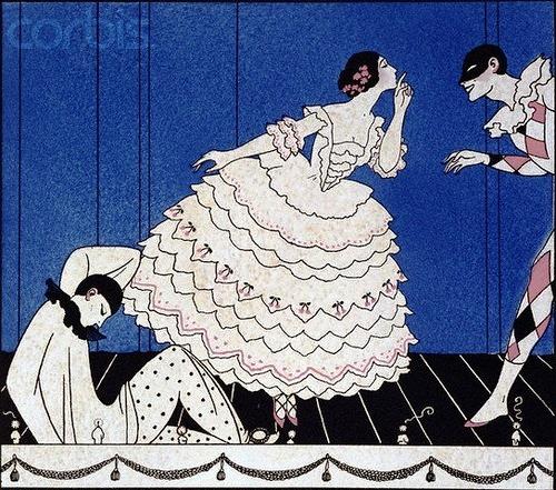 George Barbier Tamara Karsavina 1914