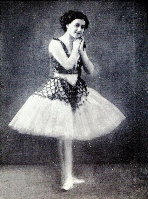 Young Tamara Karsavina