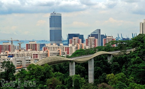 you can comfortably enjoy the magnificent panorama of the city, opening from the bridge