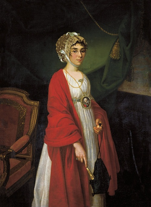 Praskovia Zhemchugova serf actress of Count Sheremetyev