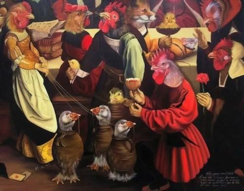 Sylvia Karle Marquet's animal society