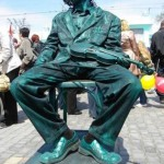 Living statues in Russia and all over the world
