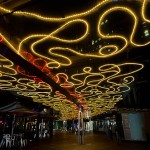Fantasy of light designers and artists transforms the city