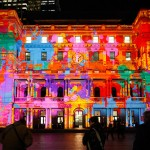 immersive light installations and projections