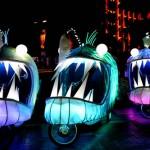 Transformated bikes. Festival of Light 'Vivid Sydney'