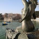Mermaid statue