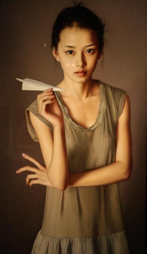 Realistic painting by Li Guijun