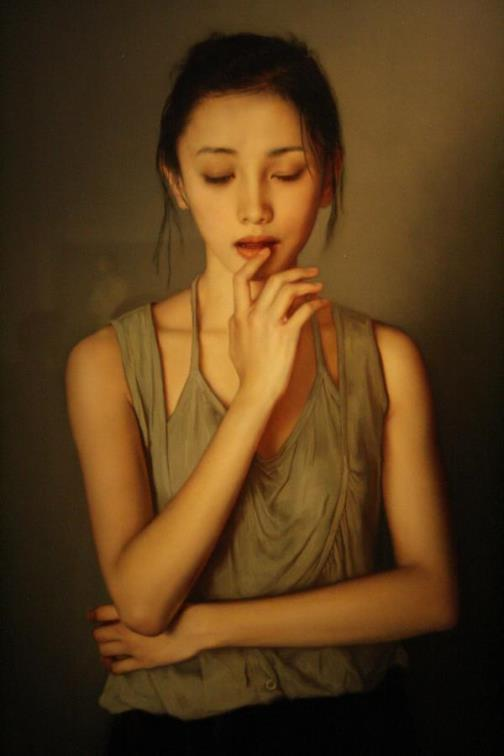 Photo realistic painting by Chinese artist Li Guijun