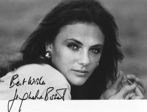 Best wishes. Jacqueline Bisset