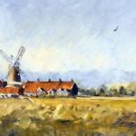 Painting by Nine-year-old artist Kieron Williamson, Norfolk, England