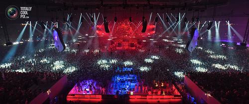 White sensation Festival of dance music in Amsterdam