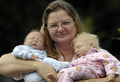 Liviana Sirmans' life-like Reborn Baby Dolls