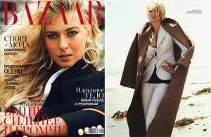 Russian professional tennis player and beautiful model Maria Sharapova