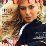 Maria Sharapova in Harpers Bazaar