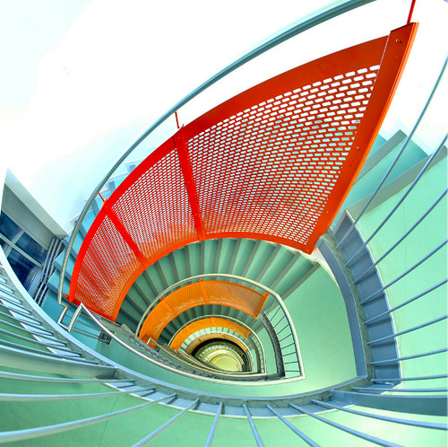 Beautiful images of stairs by German photographer Nils Eisfelds