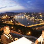 Dinner in the Sky - restaurant at 50 meters height