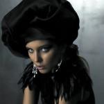 Fashion designer and model Daria Konovalova